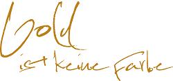 Logo gold ist keine Farbe & meine Kochwwerkstatt